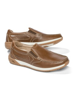 Active Air Slipper Cognac Detail 1