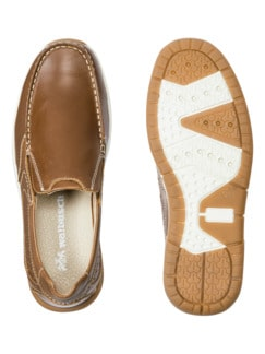 Active Air Slipper Cognac Detail 2