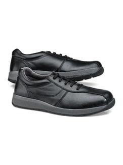 Bequem Sneaker Schwarz Detail 1