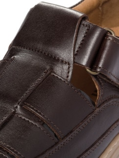 Komfort-Bäcker-Schuh Braun Detail 4
