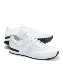 Komfort-Sneaker Weiß Detail 1