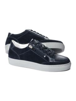 Reißverschluss-Sneaker Blau Detail 1