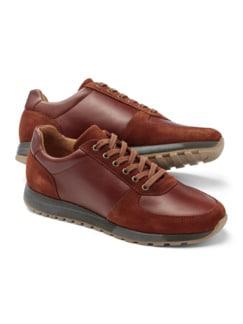 City Bequem Sneaker Cognac Detail 1