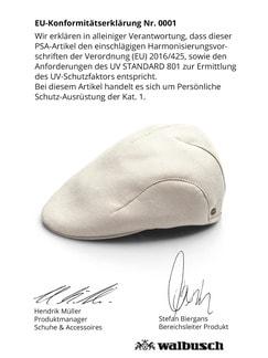 UV Schutz Schiebermütze Beige Detail 4