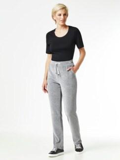 Nicki Homewear Hose Grau Detail 3