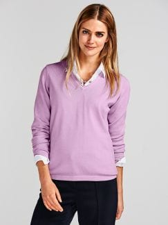 Pullover Soft Cotton Soft Fuchsia Detail 1