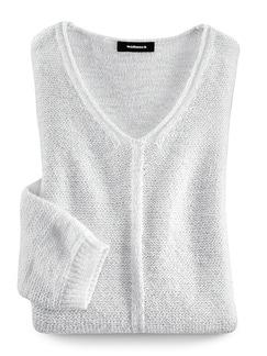 Pullover Sternenstaub Weiß Detail 2