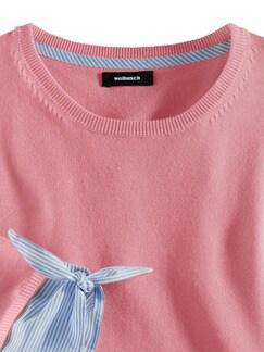 Blusenshirt 2-in-1 Pfingstrose Detail 4