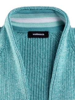 Patent-Strickjacke Mint Detail 4