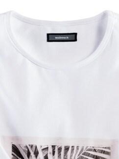 Künstler T-Shirt Alex Weiß Detail 4