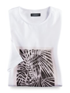 Künstler T-Shirt Alex Weiß Detail 3