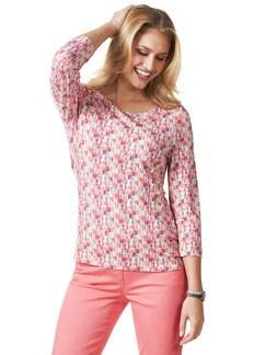 Shirt Frühlingsboten Pink/Orange Detail 1