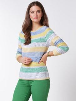 Pullover Quattro Colori Gelb/Grün Detail 1