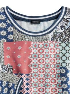 Blouson-Shirt Lissabon Teerose Multicolor Detail 3
