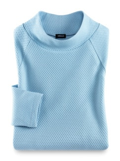 Relax-Sweatshirt Skyblue Detail 2