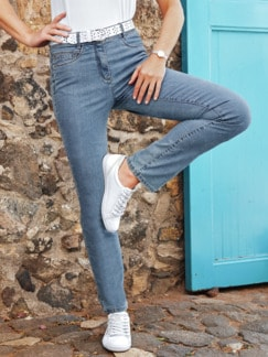 Yoga-Jeans Supersoft Mid Blue Detail 3