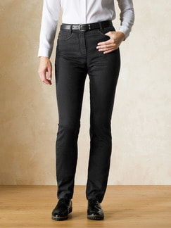 Yoga-Jeans Supersoft Black Detail 1