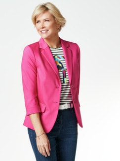 Sommerblazer Wash & Wear Fuchsia Detail 1
