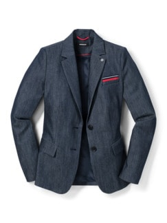 Denimblazer Supersoft Marine Detail 3