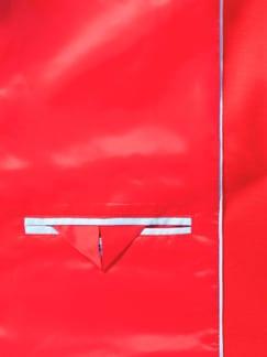 Jerseyblazer Waterkant Karminrot Detail 3