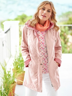 Langjacke High Seta de Luxe rose Detail 2