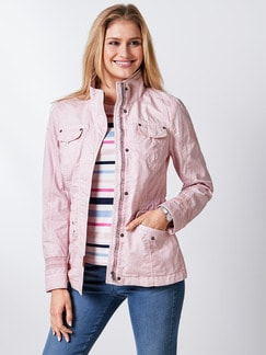 Baumwolljacke Miami Rose Detail 1