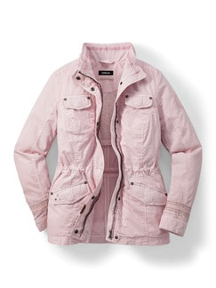 Baumwolljacke Miami Rose Detail 2
