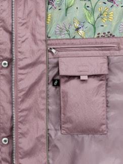Sommerparka Wetter Plus rosenholz Detail 4