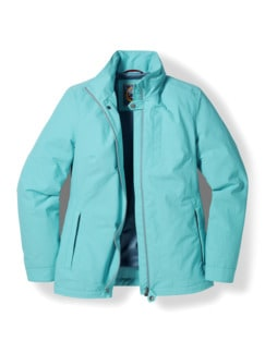 Klepper Aquastop Protection Jacke Hellblau Detail 2