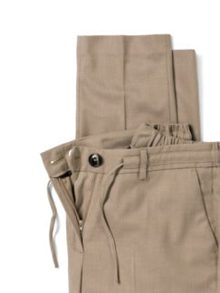 Flanellhose Country life Caramel Detail 4