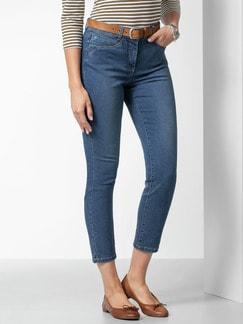 7/8 Coolmax Jeans Blue Stoned Detail 1