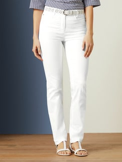 Yoga-Jeans Supersoft White Detail 1