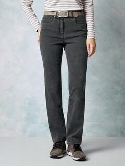 Powerstretch Jeans Dark Grey Detail 1