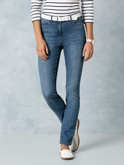 Push-up-Jeans Mid Blue Detail 1