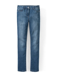 Push-up-Jeans Mid Blue Detail 3