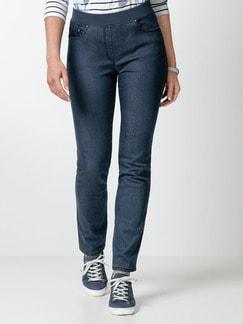 Raphaela by Brax Dynamic Jeans Jeansblau Detail 1