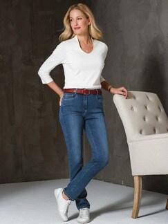 Skinny Jeans Mid Blue Detail 2