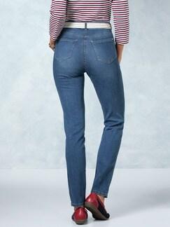Skinny Jeans Mid Blue Detail 4
