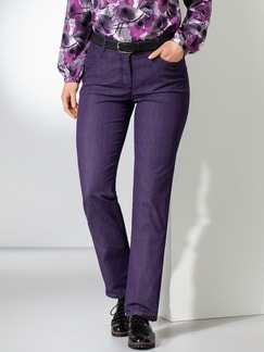Yoga-Jeans Supersoft Aubergine Detail 1