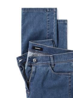 Extraglatt- Jeans Blue Stoned Detail 4