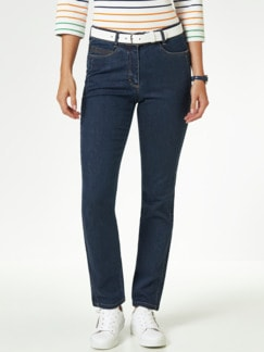Extraglatt- Jeans Dark Blue Detail 1