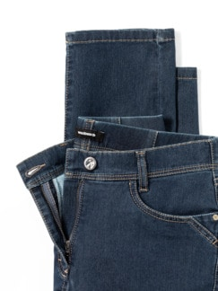 Yoga-Jeans Ultraplus Slim Fit Blue Stoned Detail 4