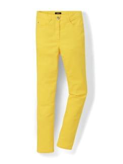 Yoga Jeans Ultraplus Sonnengelb Detail 2