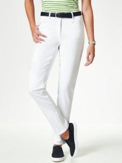 Powerstretch Jeans Weiß Detail 1