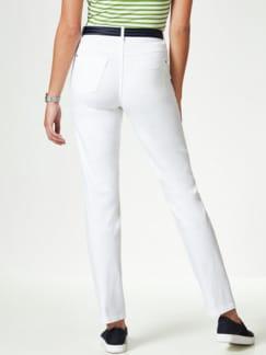Powerstretch Jeans Weiß Detail 3