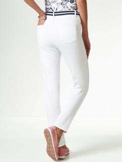 Gürtel- Jeans Weiß Detail 3