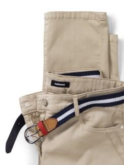 Gürtel- Jeans Saharabeige Detail 4