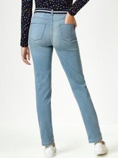 Gürtel- Jeans Blue Bleached Detail 3