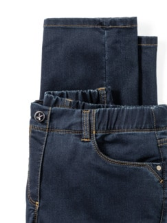 Thermolite-Jeans waterrepellent Dark Blue Detail 4