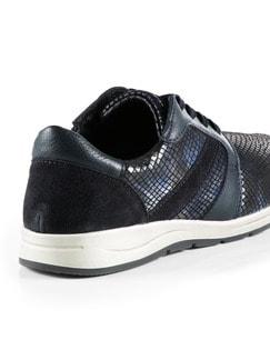 Bequem-Sneaker Blau Detail 3